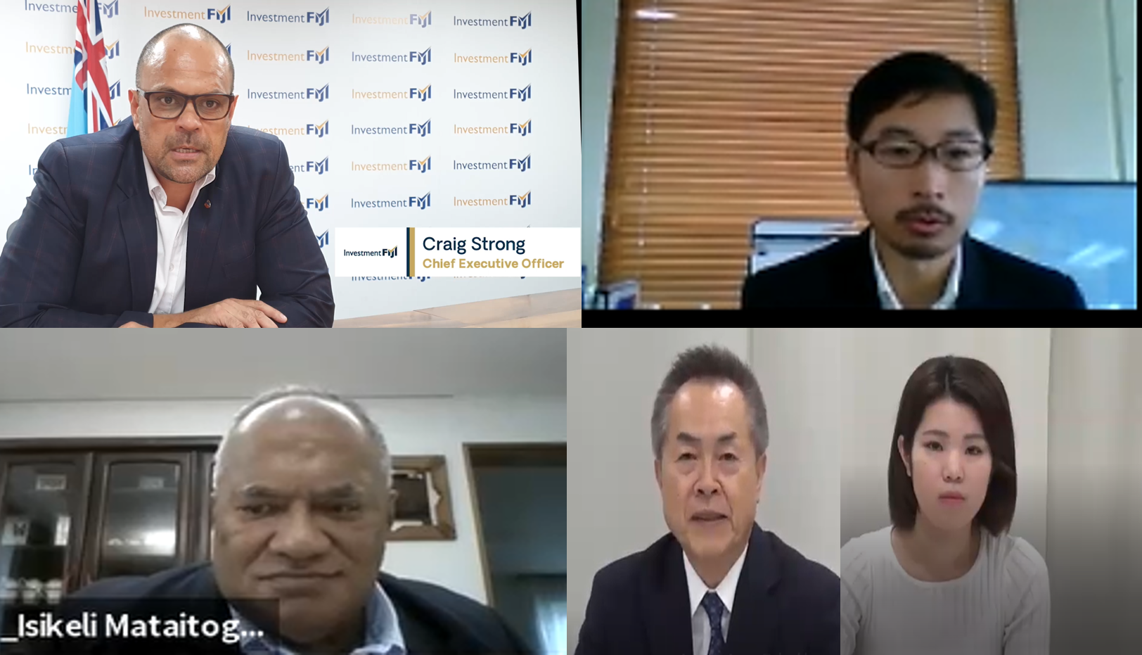 """Report:Fiji Webinar """"The current economy in Fiji after Covid-19, and advice for Japanese businesses on the future trade and investment"""""""